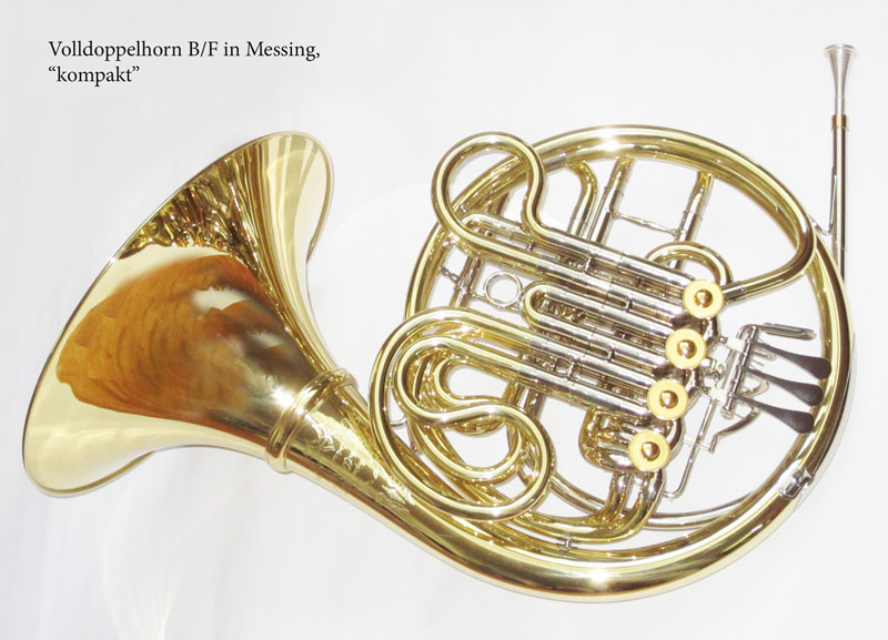 Full double horn kompakt by Engelbert Schmid